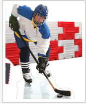 Safer Hockey Rinks